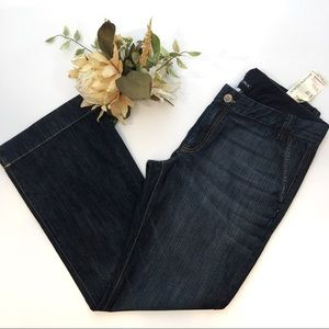Banana Republic Trouser Jeans NWT Straight Relaxed